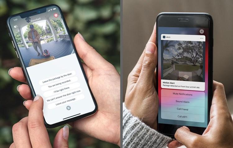Arlo doorbell app